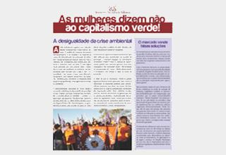 Jornal da SOF – As mulheres dizem não ao capitalismo verde