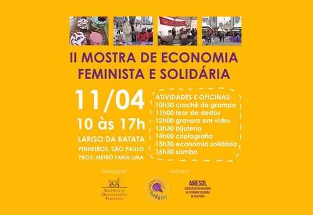 Mulheres transformando a economia: 2ª Mostra fortalece feminismo na economia solidária