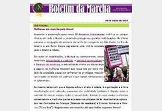 Boletim eletrônico da Marcha Mundial das Mulheres 24/06/2013