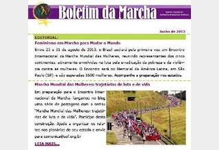 Boletim eletrônico da Marcha Mundial das Mulheres 10/06/2013