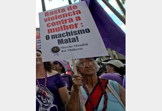 Não à violência sexual contra meninas e mulheres!