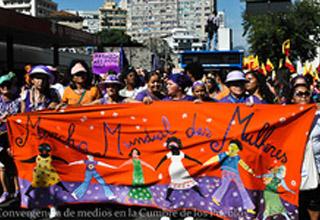 Mulheres abrem jornada de mobilizações da Cúpula dos Povos na Rio+20