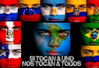 Ato em São Paulo Solidariedade ao povo paraguaio, em defesa da democracia, pelo restabelecimento do governo de Fernando Lugo