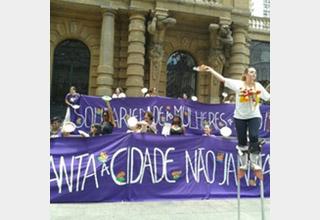 Solidariedade à luta do assentamento Milton Santos