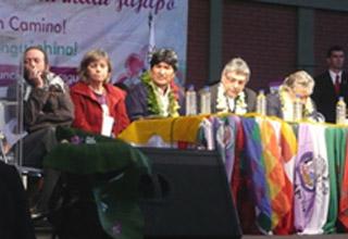 Nota de solidariedade da Marcha Mundial das Mulheres com Evo Morales e com o Povo da Bolívia