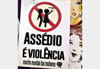 Violência contra as mulheres no transporte público