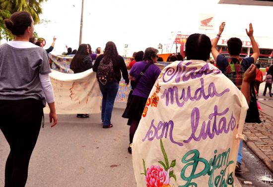 Marcha Mundial das Mulheres ocupa o Vale do Ribeira e mostra a força da auto organização