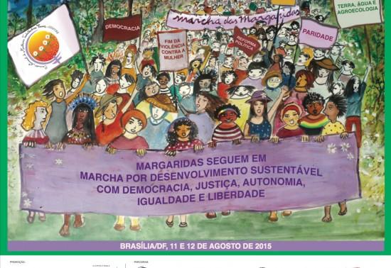 Marcha das Margaridas movimentará 50 mil mulheres em Brasília nos dias 11 e 12