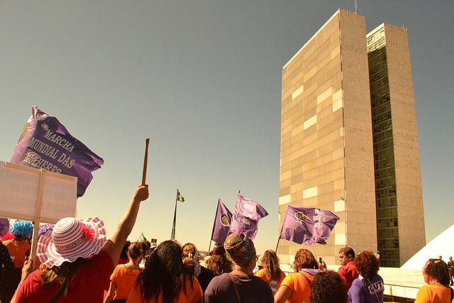 Nós feministas somos contra o fim da Secretaria de Políticas para Mulheres