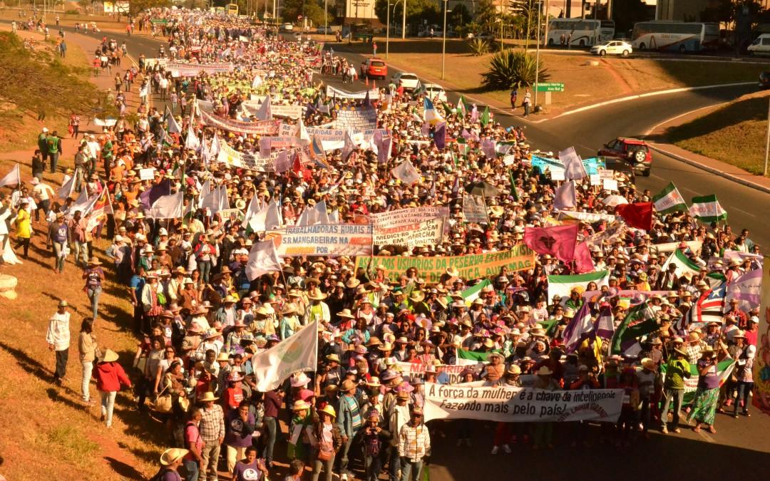 Marcha das Margaridas se encerra com novas conquistas e mostra a força das mulheres organizadas