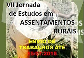 VII Jornada de Estudos em Assentamentos Rurais debate realidade rural brasileira
