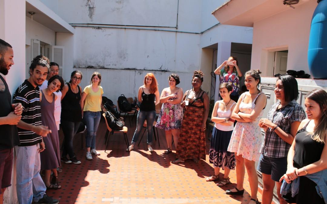 Jovens Monitores debatem feminismo e cultura na SOF
