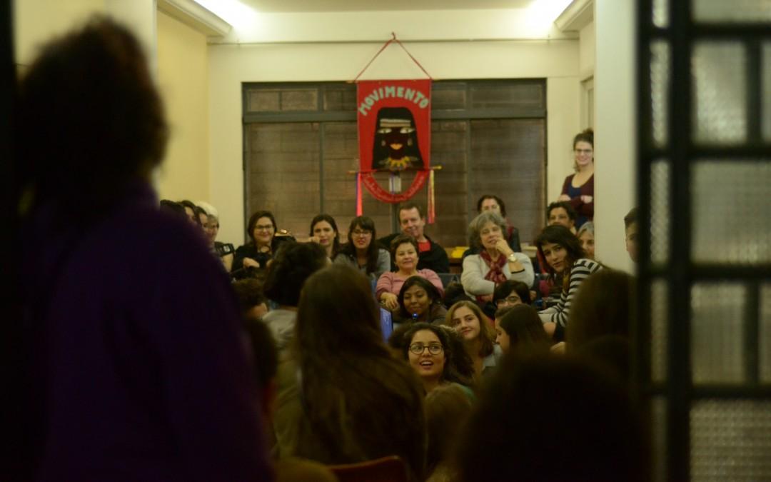 Cine-debate sobre a história do feminismo reúne mais de 50 mulheres na SOF