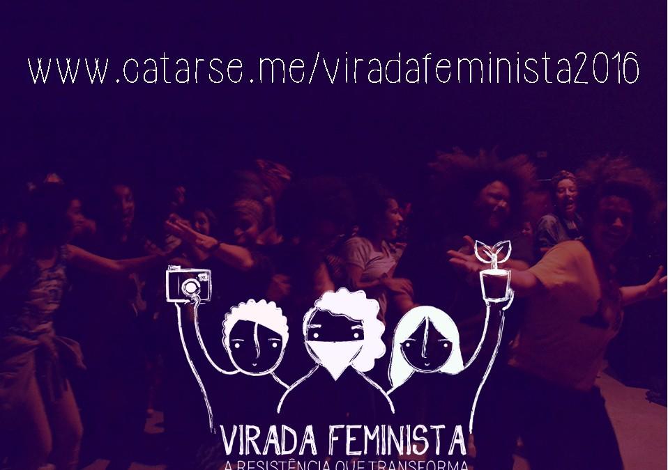 Jovens militantes lançam financiamento colaborativo para 2ª Virada Feminista
