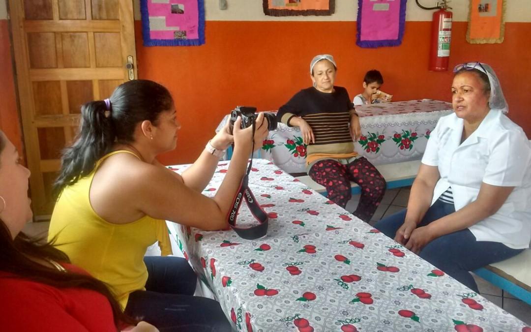 Mulheres de Heliópolis produzem curta-metragem em curso de audiovisual