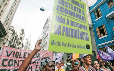 Jornal da MMM denuncia impactos da Reforma da Previdência na vida das mulheres