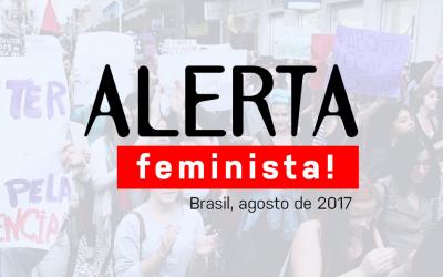 Frente Nacional lança alerta feminista para a construção de ações de enfrentamento coletivo