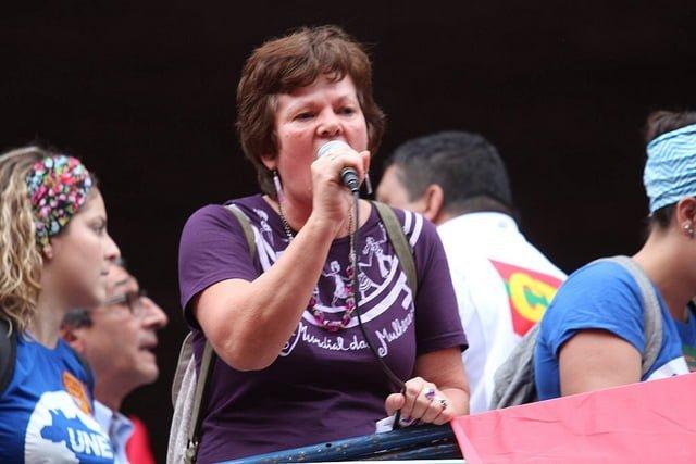 """Sônia Coelho: """"A gente luta para que tenha mais mulheres no Congresso"""""""