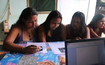Jovens da Barra do Turvo se reúnem para 2º módulo de oficina de comunicação
