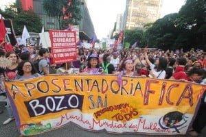 8 de março inicia jornada de atos contra reforma da previdência