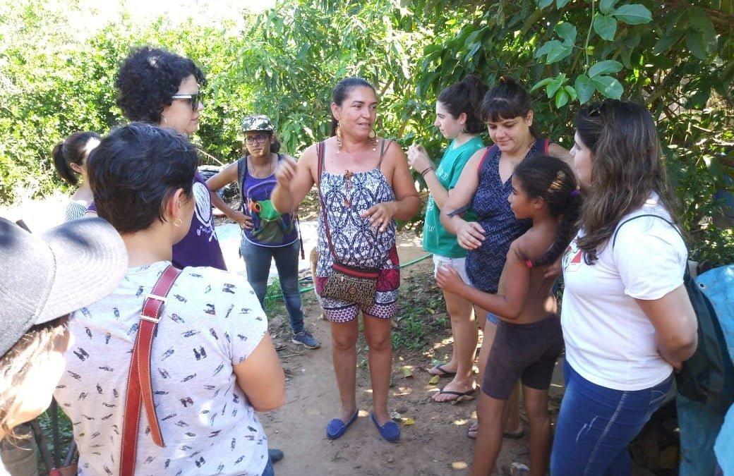 Saiba como foi o intercâmbio feminista na Ocupação Elisabeth Teixeira