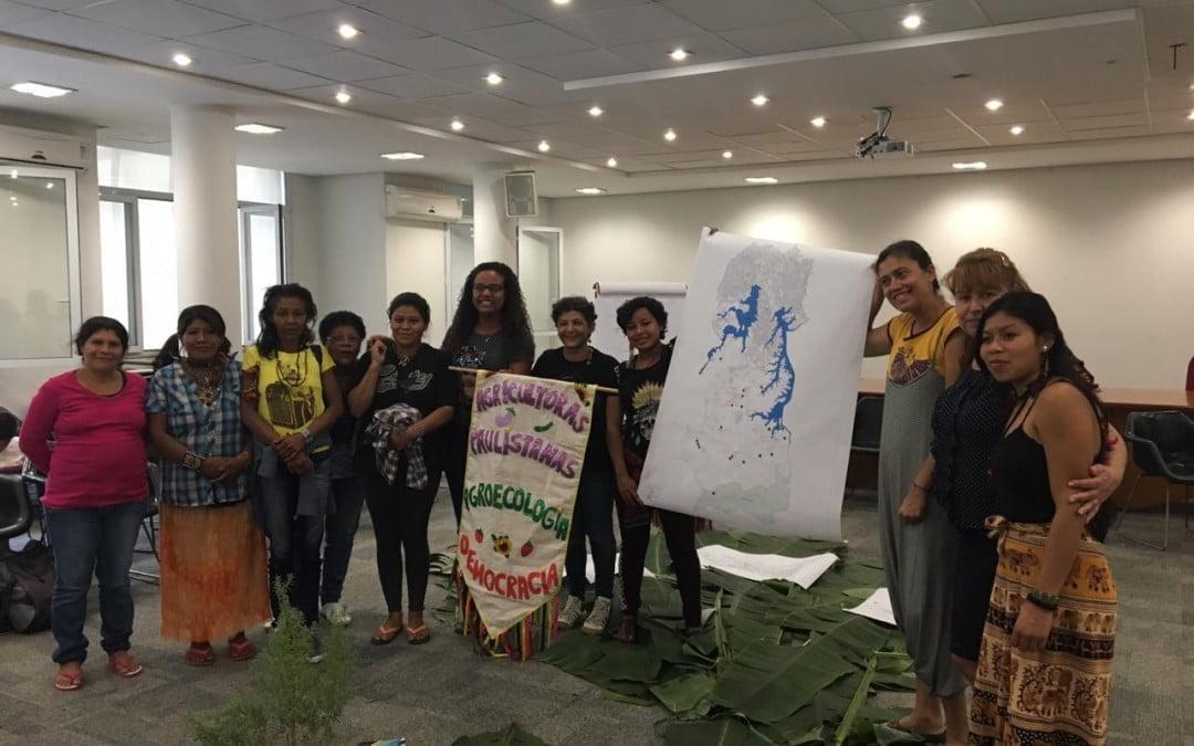 Agricultoras urbanas socializam participação na Marcha das Margaridas e continuam trabalho nos territórios