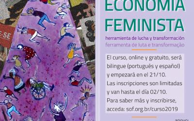 Inscripciones abiertas | La economía feminista: herramienta de lucha y transformación