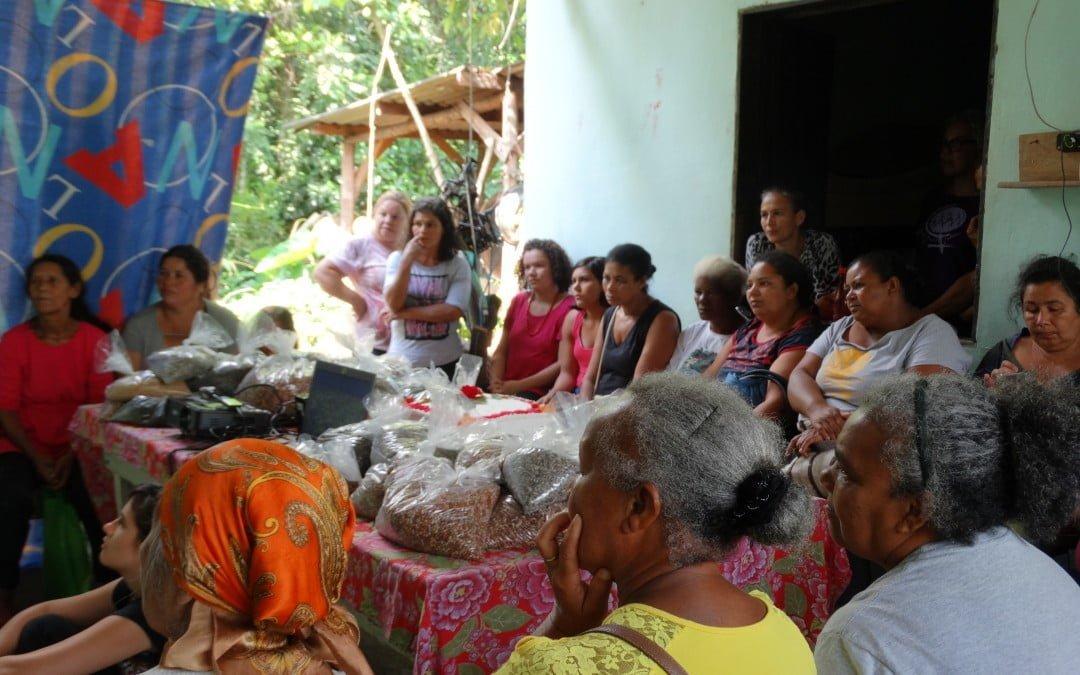Rede de agricultoras e quilombolas de Barra do Turvo comemora três anos e define seu nome