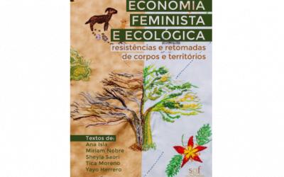 Livro virtual sobre economia feminista e ecológica é lançado no Fórum Popular da Natureza