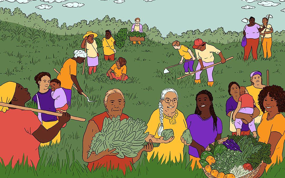 Reflexões e práticas para construir economia feminista e justiça ambiental