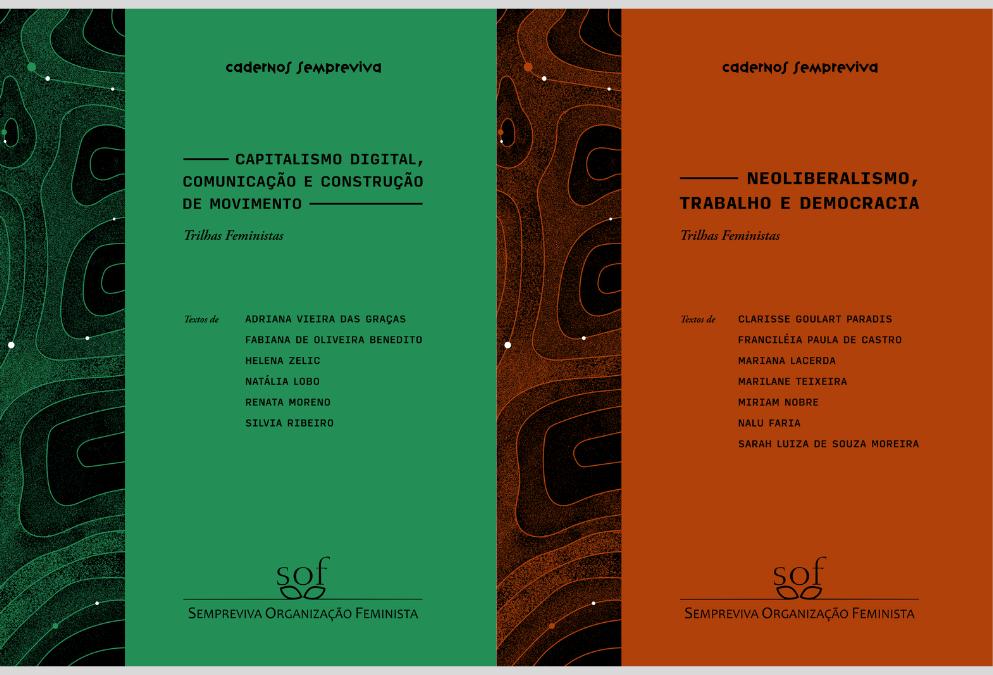 Novos Cadernos Sempreviva sobre capitalismo digital e economia feminista estão disponíveis para leitura gratuita