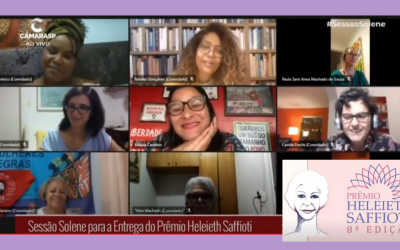SOF recebe 8º edição do prêmio feminista Heleieth Saffioti da Câmara Municipal de São Paulo